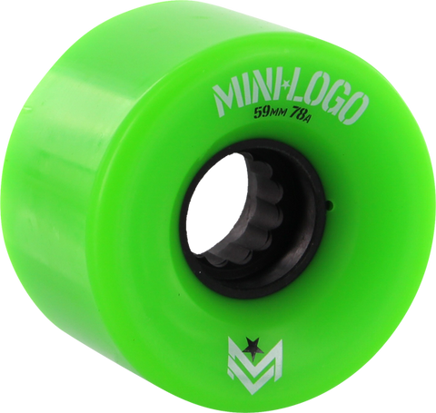 MINI LOGO A-CUT 59mm 78a GREEN A.W.O.L. ppp