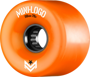 MINI LOGO A-CUT 59mm 78a ORANGE A.W.O.L. ppp