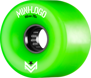 MINI LOGO A-CUT 66mm 78a GREEN A.W.O.L. ppp