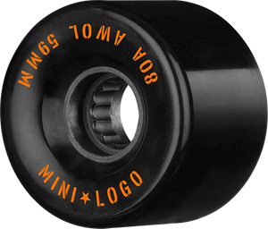 MINI LOGO ATF A.W.O.L. 59mm 80a BLACK