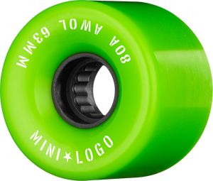 MINI LOGO ATF A.W.O.L. 63mm 80a GREEN