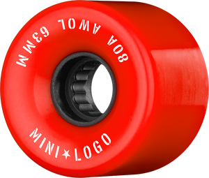 MINI LOGO ATF A.W.O.L. 63mm 80a RED