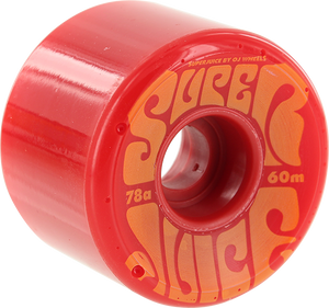 OJ WHEELS SUPER JUICE 60mm 78a RED/ORG