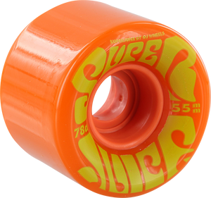 OJ WHEELS SUPER JUICE MINI 55mm 78a ORANGE