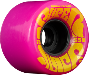 OJ WHEELS SUPER JUICE MINI 55mm 78a PINK