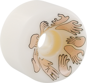 OJ WHEELS BOSERIO HANDS 60mm 97a WHT