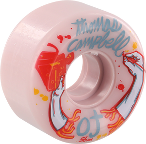 OJ WHEELS CAMPBELL KEYFRAME 56mm 87a PINK