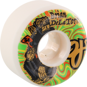 OJ WHEELS DELATORRE TRIP 56mm 101a WHT