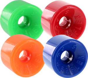 POWERFLEX 5 63mm 88a ASSORTED#2 GRN/RED/ORG/BLU