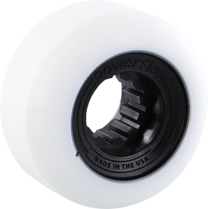 POWERFLEX GUMBALL 56mm 83b WHT/BLACK
