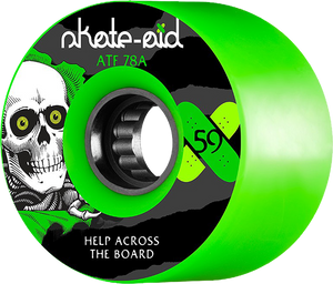 PWL/P ATF 59mm 78a SKATE AID RIPPER GREEN