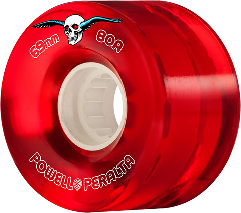PWL/P CLEAR CRUISER 69mm 80a RED