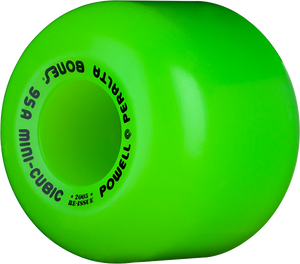 PWL/P MINI CUBE (95A) GREEN 64mm
