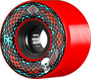 PWL/P SNAKES 66mm 75a RED/BLK