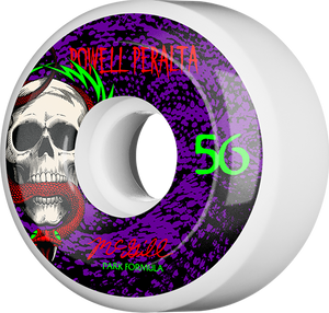 PWL/P MCGILL SKULL & SNAKE 4 PF 56mm WHT/PUR 103a