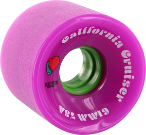 REMEMBER CALIFORNIA CRUISER 61mm 78a PINK/GRN