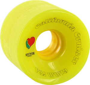 REMEMBER CALIFORNIA CRUISER 61mm 78a NEON GRN/YEL