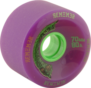 REMEMBER WHEELS HOOT 70mm 80a PURPLE