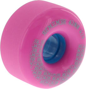 REMEMBER PEEWEE 62mm 82a PINK