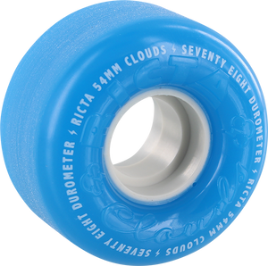 RICTA CLOUDS BLUE/WHT 54mm 78a