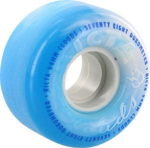 RICTA CLOUD SWIRL 54mm 78a BLUE/WHT