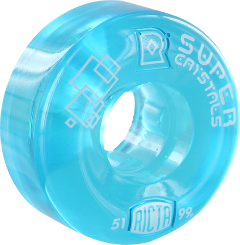 RICTA SUPER CRYSTALS II 51mm 99a CLEAR BLUE