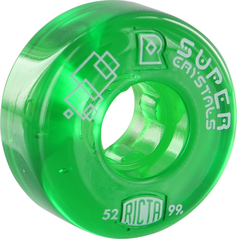 RICTA SUPER CRYSTALS II 52mm 99a CLEAR GREEN