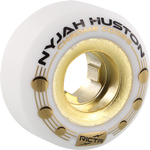 RICTA NYJAH CHROME CORE HOLES 54mm 101a WHT/GOLD