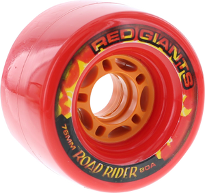 ROAD RIDER RED GIANTS 76mm 80a RED