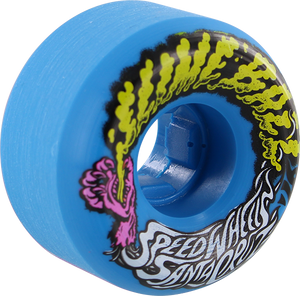 SANTA CRUZ SLIMEBALLS VOMITS MINI 53mm 97a BLUE