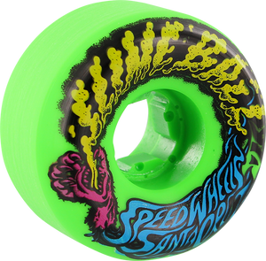 SANTA CRUZ SLIMEBALLS VOMITS MINI 54mm 97a NEON GREEN