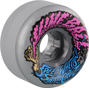 SANTA CRUZ SLIMEBALLS VOMITS MINI 56mm 97a SILVER METALLIC