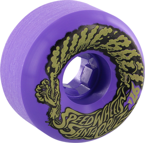 SANTA CRUZ SLIMEBALLS VOMITS MINI 56mm 97a NEON PURPLE