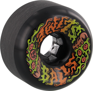 SANTA CRUZ SLIMEBALLS VOMITS MINI 56mm 97a PUKARONI BLACK