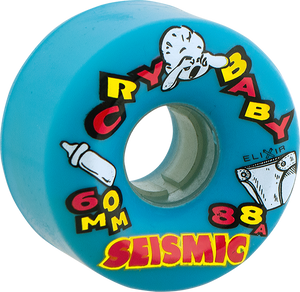 SEISMIC CRY BABY 60mm 88a BLUE