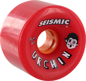SEISMIC URCHIN 75mm 82a RED