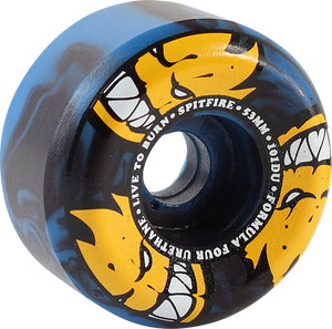 SPITFIRE F4 101a CON-FULL 53mm AFTERBURNER BLU/BLK SWIRL