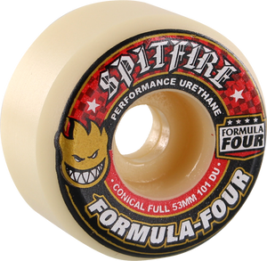 SF FORMULA 4 101a CONICAL FULL 53mm WHT W/RED