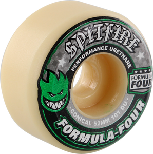 SF FORMULA 4 101a CONICAL 52mm WHT W/GRN & BLK