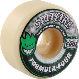 SPITFIRE F4 101a CONICAL 56mm WHT W/GRN & BLK