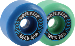 SPITFIRE F4 99a LOCK INS 53mm MASH BLUE/TEAL