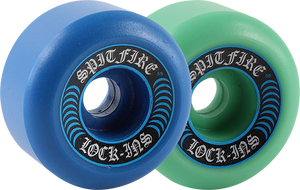 SPITFIRE F4 99a LOCK INS 55mm MASH BLUE/TEAL