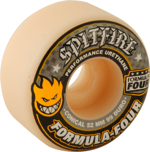 SF FORMULA 4 99a CONICAL 52mm WHT W/YEL & BLK