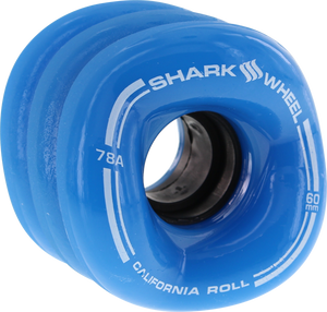 SHARK CALIFORNIA ROLL 60mm 78a BLUE