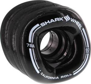 SHARK CALIFORNIA ROLL 60mm 78a BLACK