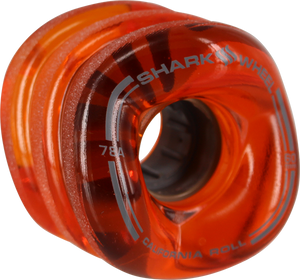 SHARK WHEELS CALIFORNIA ROLL 60mm 78a TRANS.LAVA