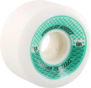 SPEEDLAB CHECKMATES 58mm 101a WHITE/TEAL