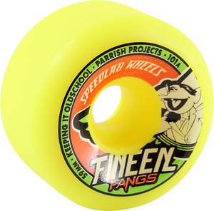SPEEDLAB FANGS 59mm 101a YELLOW