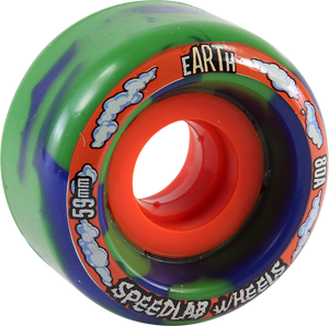 SPEEDLAB GLOBES 59mm 80a BLUE/GRN SWIRL