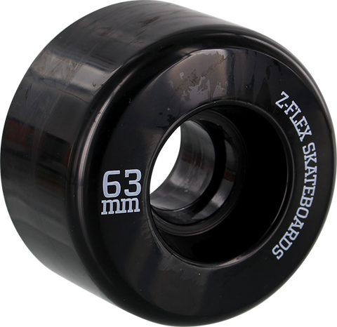Z-FLEX Z-SMOOTH WHEELS 63mm 78a BLACK